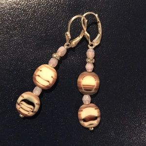 Jewelry - Earrings with silver clasps